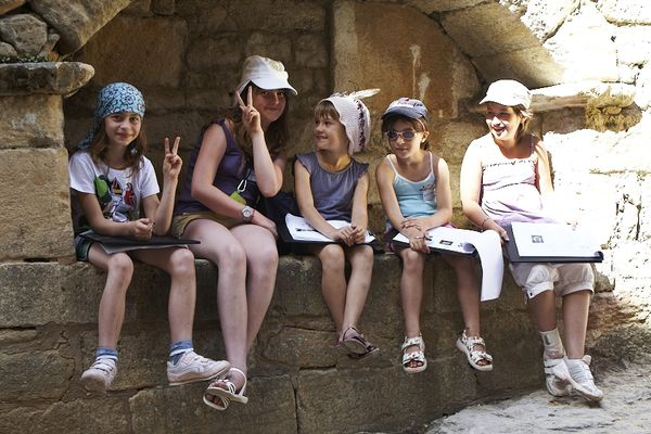 Eté des 8-12 ans à Sarlat