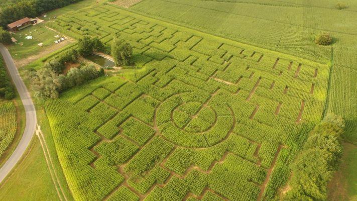 Labyrinthe de Maïs des Châteaux