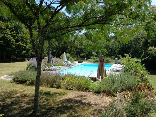 aile du manoir - gite e charme 4 pers - piscine chauffée 3