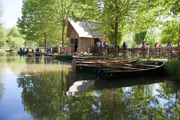 Parc le Bournat -barque