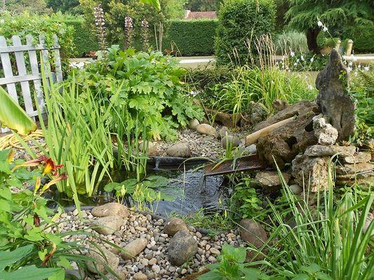 jardin et eau, le mas de le feuillade redim