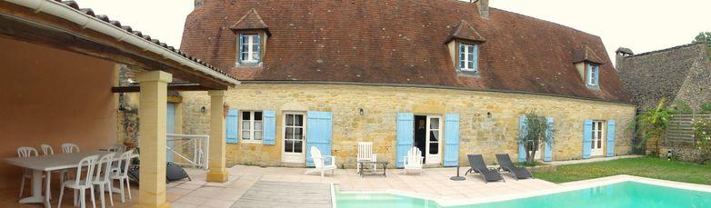 la grange d'amélie - grand gite  10 pers avec piscine chauffée -  proche sarlat5