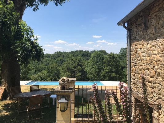 les rozieres - location avec piscine - tamnies proche sarlat1