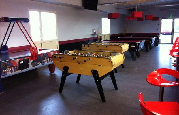 La salle de jeux