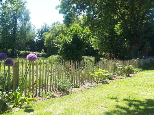 jardin entièrement clos