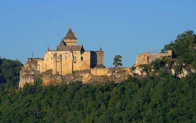 Chateau de Castelnaud - Vue Est