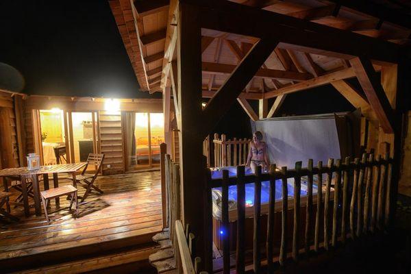 Cabanes perchées du Domaine de Campagnac
