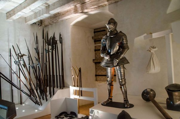 Chateau de Castelnaud - Armes de guerre