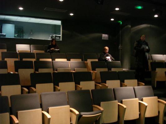 Auditorium de la médiathèque l'Apostrophe