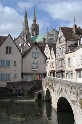 Pont Bouju à Chartres