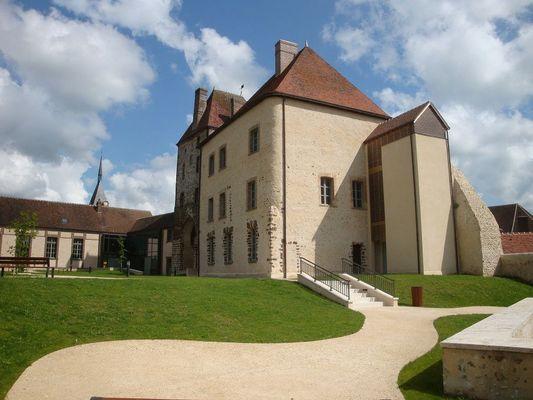 Château de Senonches_corps de logis