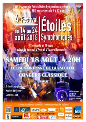 Etoiles symphoniques LA SAUCELLE 18 août