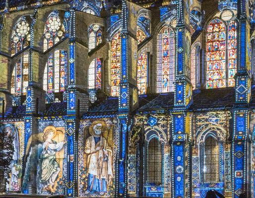 Eglise Saint-Pierre - Scénographie ça va être beau - Photo Yves Lejeune