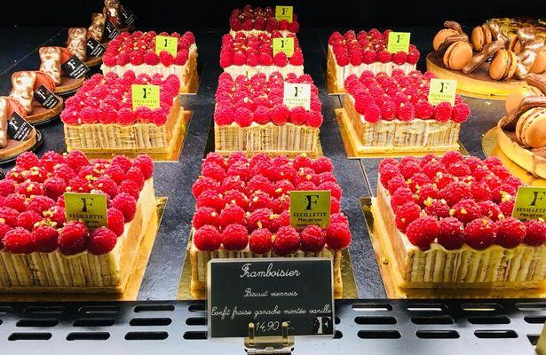 Feuillette - Chartres - Tartes Framboise