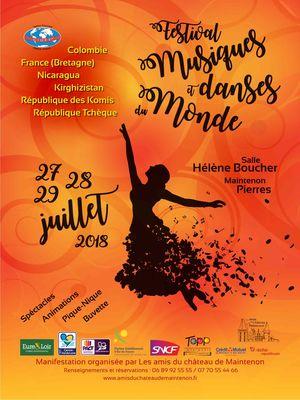Festival musiques et danses du monde 2018