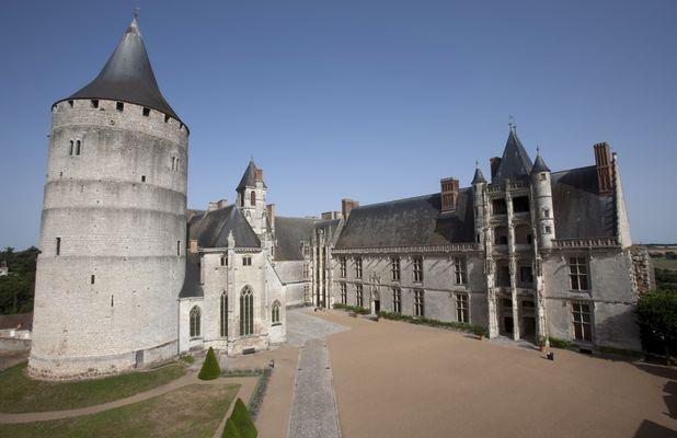 Le chateau Châteaudun