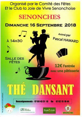 THE DANSANT SENONCHES 16 septembre