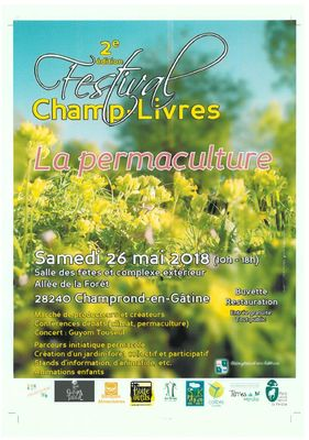 2ème édition du festival Champ-livres
