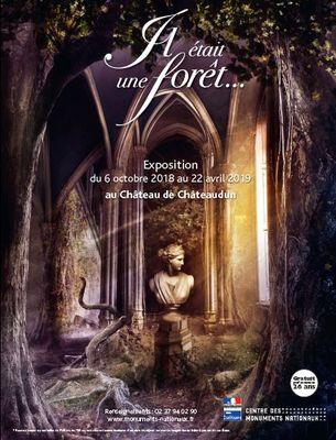 Exposition Il était une forêt au château