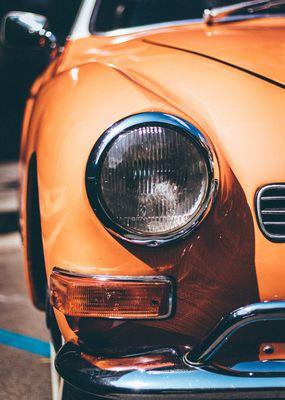 vintage-orange-vehicle-headlight-1409968