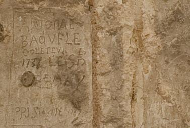 Visite guidée - Les graffitis du château