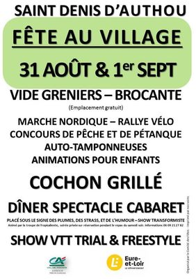 fete st denis d'authou