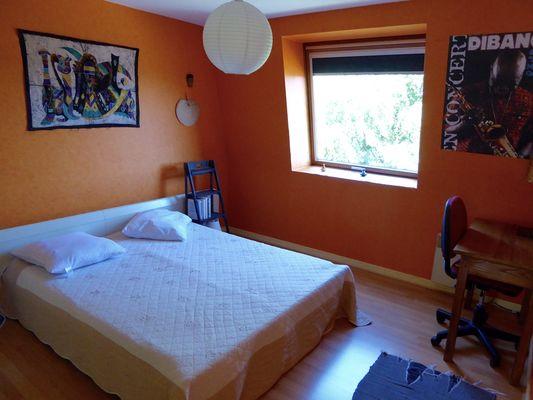 Marc Verre chambre orange