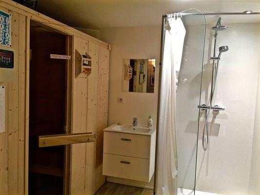 Marc Verre sauna