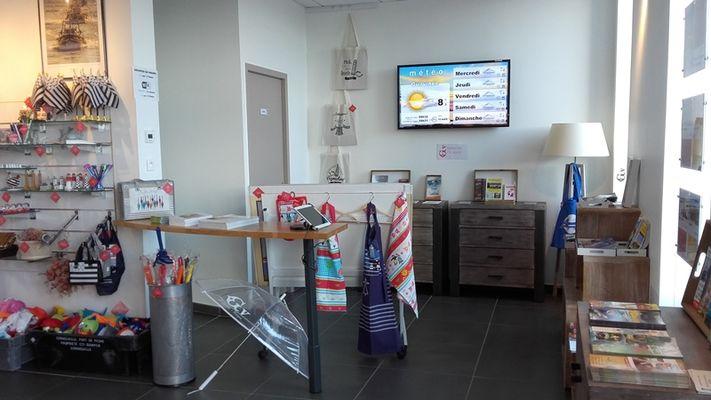 Office de tourisme Destination Pays Bigouden Sud - Accueil du Guilvinec - espace documentation