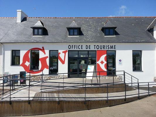 Office de tourisme Destination Pays Bigouden Sud - Accueil du Guilvinec - façade