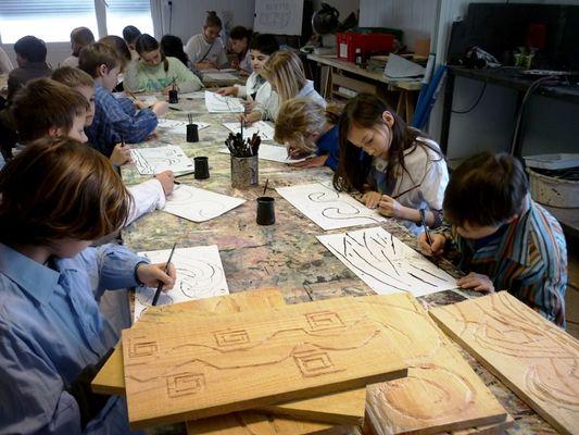 Atelier CEAPC Centre d'éveil aux arts-plastiques - Ile Tudy - Pays Bigouden (3)