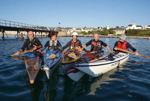 Balade Kayak de mer