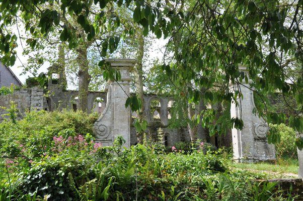 Beauport, jardin et réfectoire
