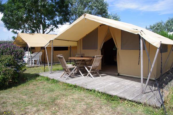 Camping Flower la corniche-tente-Plozevet-Pays Bigouden