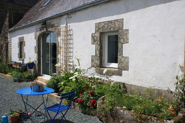 Chambres d'hôtes les bulles bleues -jardin 2 -Pouldreuzic-Pays Bigouden