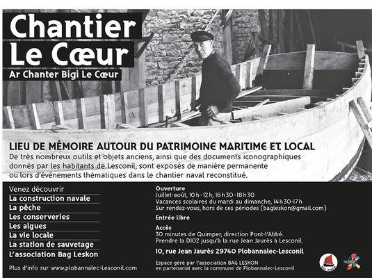 Chantier-le-coeur - Plobannalec Lesconil - Pays Bigouden Sud