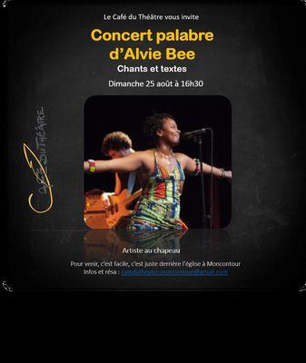 Concert-palabre-Alvie-Bee