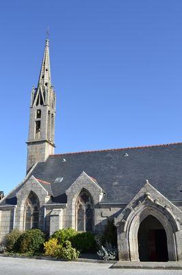 Eglise Ile Tudy pays bigouden finistère bretagne