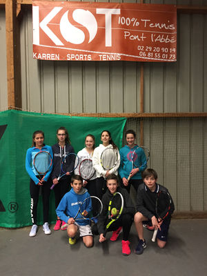 Karren Sports Tennis - Stages - Pont-l'Abbé -Pays Bigouden - 3