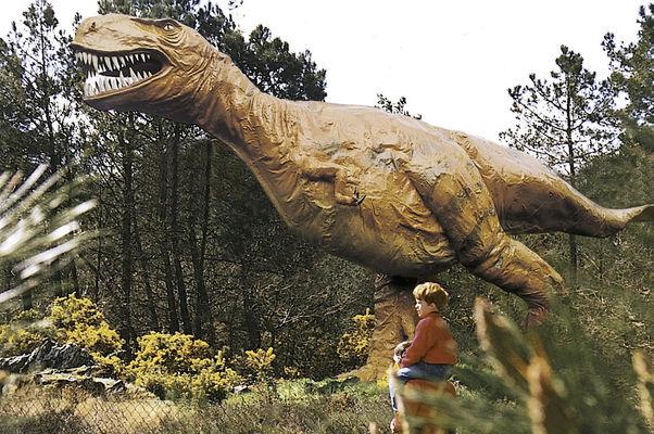 Parc de Préhistoire de Bretagne - dinosaure