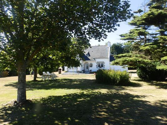 Location - LE COZ Armand - Saint Jean Trolimon - Pays Bigouden - jardin