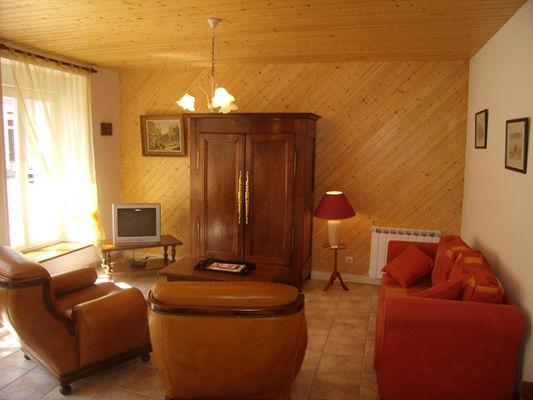 Location - LE GALL Monique - Pont L'Abbé - Pays Bigouden - salon bis