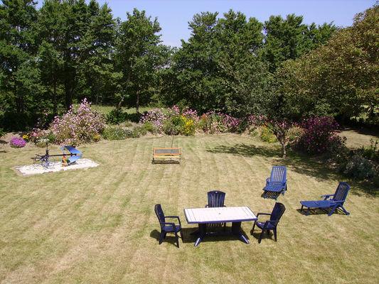 Location - LE ROY Emilie - Saint Jean Trolimon - Pays Bigouden - jardin