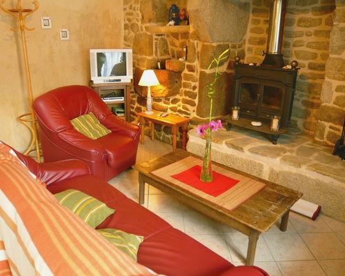 Location - LE ROY Emilie - Saint Jean Trolimon - Pays Bigouden - salon