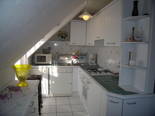 Location - POCHIC TOULEMONT - Pont L'Abbé - Pays Bigouden - cuisine