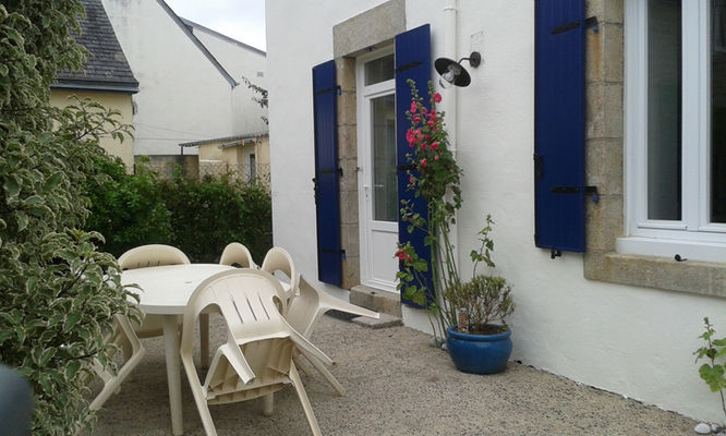Location POULIQUEN - Sainte-Marine - Pays Bigouden - ext