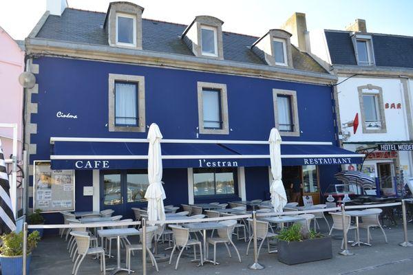 Restaurant l'Estran Ile-Tudy pays bigouden finistère bretagne