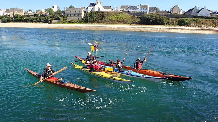 Balade en kayak de mer