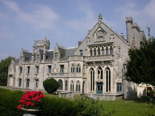 chateau de Keriolet façade sud