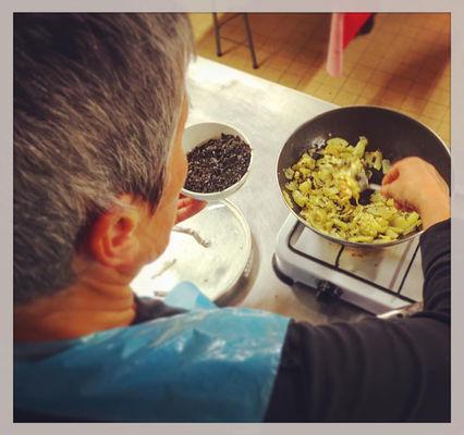 Atelier de cuisine de Scarlette Le Corre - Guilvinec - Pays Bigouden